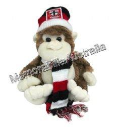 St Kilda Saints  AFL 24cm Monkey
