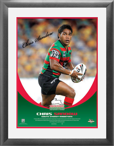 Chris Sandow Signed Heroshot