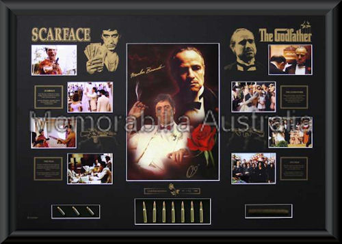 Godfather/Scarface LE Large Photomat Framed