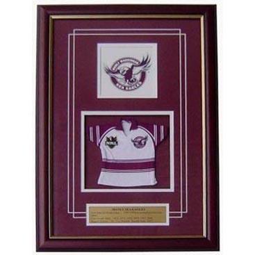 Manly Framed Logo Mini Jersey