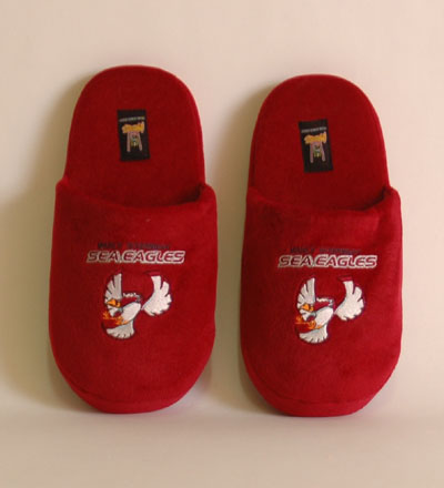 Manly-Warringah Sea Eagles Slippers - Large