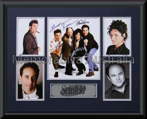 Seinfeld LE Montage Mat Framed