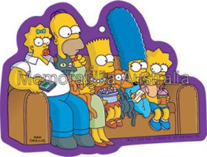 Simpsons Couch Airfreshener