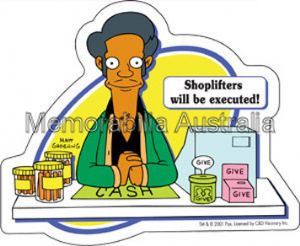 Simpsons Apu Sticker