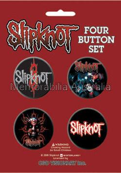 Slipknot Button Badge Pack