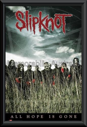 Slipknot Cornfield Poster Framed