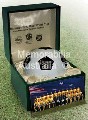 Socceroos 2006 World Cup Ceramic Football