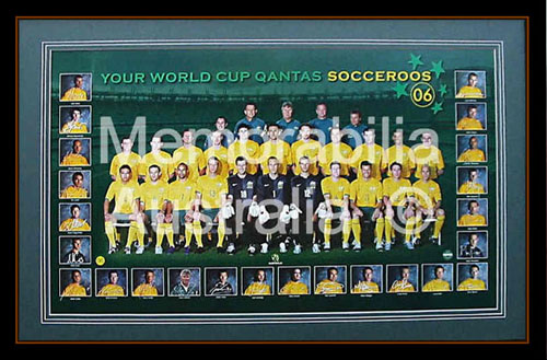 Socceroos World Cup 2006 Squad Poster