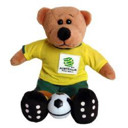 Socceroos Beanie Bear