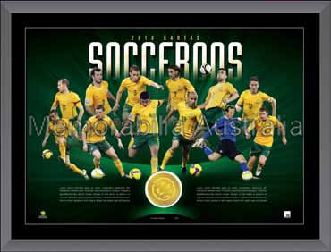 Socceroos LE Medallion Print