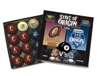 State of Origin Pool Balls