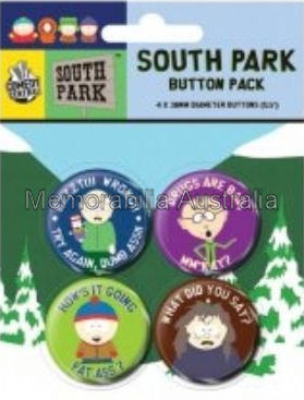 Southpark Button Badges Pack