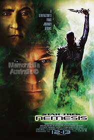 Star Trek Nemesis Advance Reprint