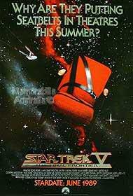 Star Trek 5 Poster