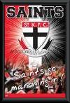 St Kilda Saints Logo poster