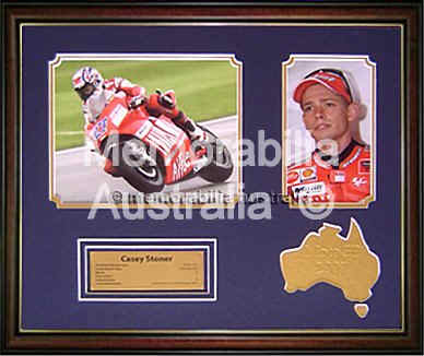 2007 Moto GP Champion - Casey Stoner