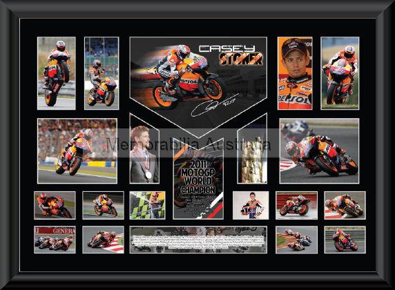 Casey Stoner 2011 Championship O/S montage