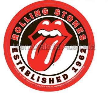 Rolling Stones Die Cut Sticker