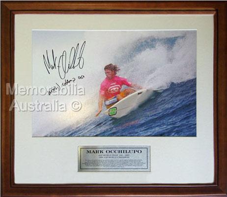 Mark Occhilupo Signed Print