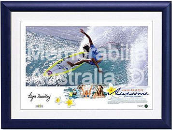 Layne Beachley Lithograph