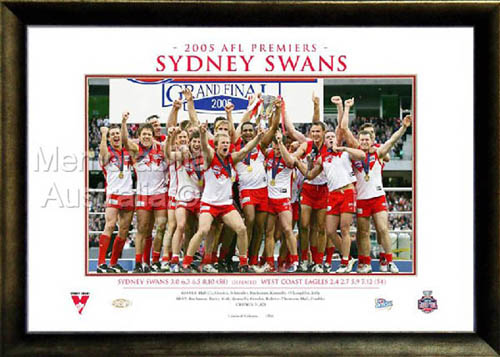 2005 Sydney Swans Premiership Photo