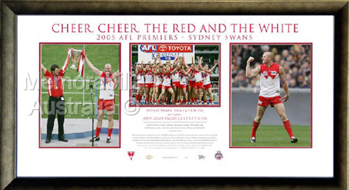 2005 Sydney Swans Premiership Collage