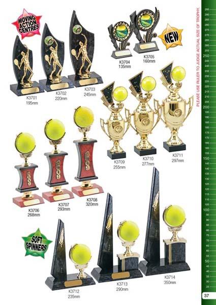 Tennis Trophies 2