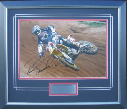 Ricky Carmichael Signed Print Last Race Motocross