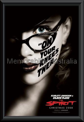 The Spirit Scarlett Poster Framed