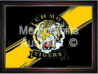 Richmond Tigers Framed Logo Poster