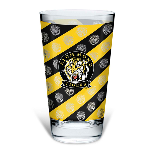 Richmond Tigers Conical Glass