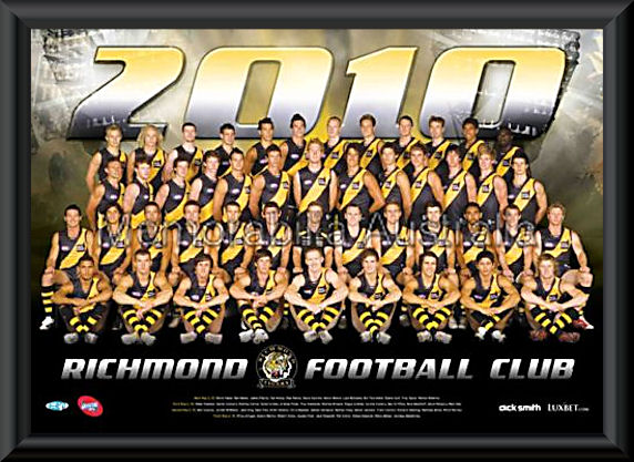 Richmond Tigers Afl Aussie Rules Sports