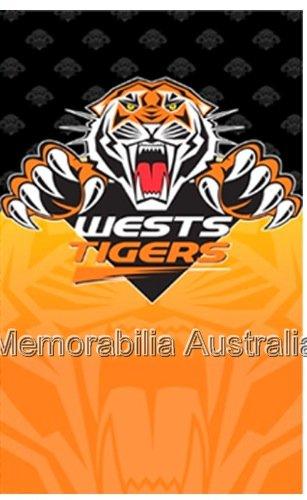 Wests Tigers Nrl Greeting Card West Tigers Nrl Rugby League