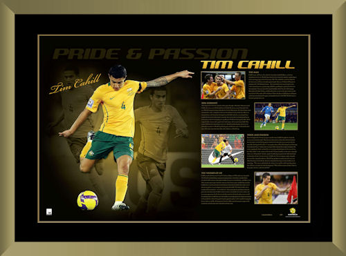 Tim Cahill Signed Pride and Passion