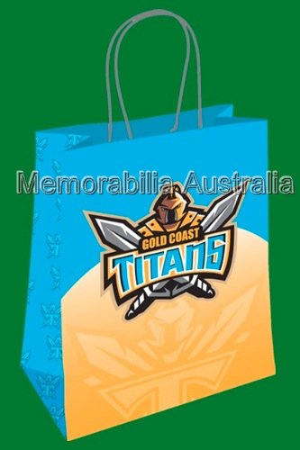 Gold Coast Titans NRL  Gift Bag