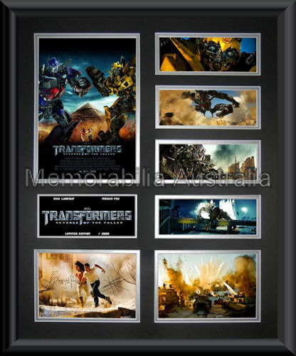 Transformers 2 LE Montage Framed