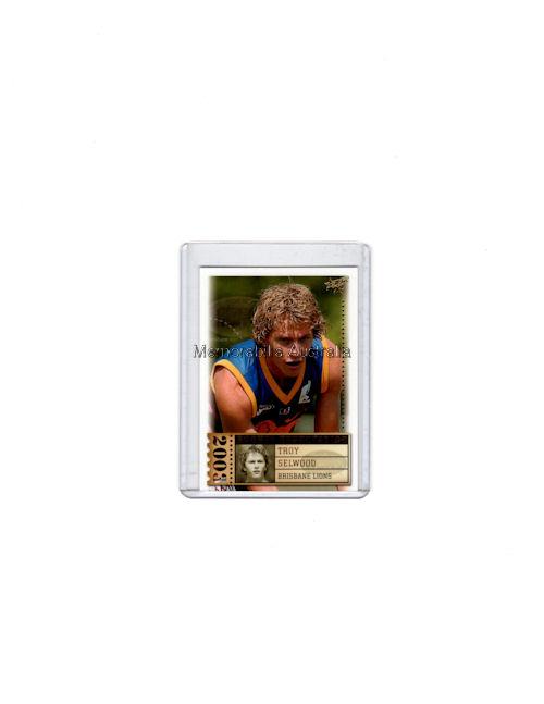Troy Selwood AFL 03 Rookie