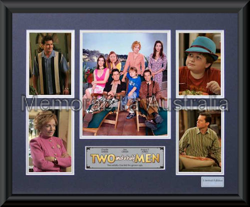 Two And A Half Men LE Framed