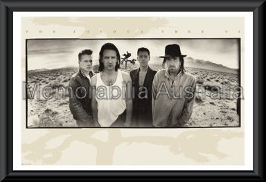 U2 Joshua Tree Poster Framed