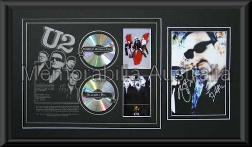 U2 LE Montage Mat Framed