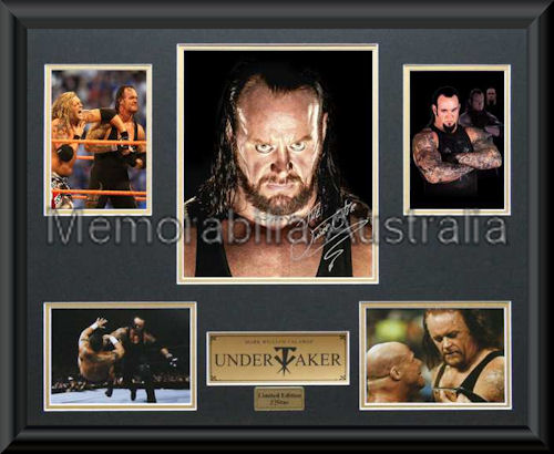 Undertaker LE Photo Montage Framed