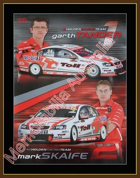Holden Racing Team Framed Print