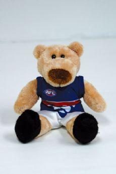 Western Bulldogs Beanie Bear