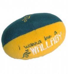 Wallabies Plush Football