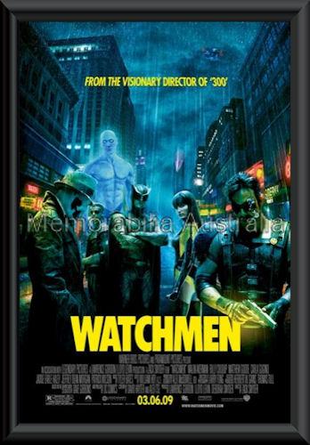 Watchmen Poster Framed