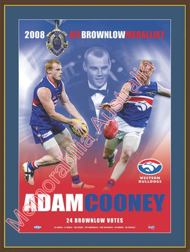 Adam Cooney Brownlow Medallist Matted Print