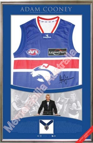 Adam Cooney Brownlow Medal Jersey