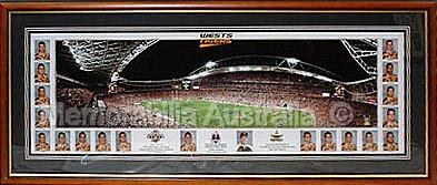 2005 Wests Tiger Premiership Panoramic