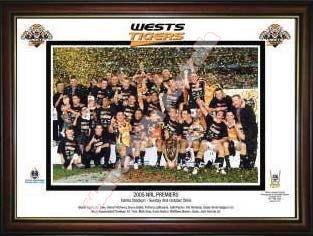 2005 West Tiger Premiers Victory Print
