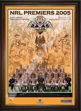 2005 West Tiger Premiers Celebration Print